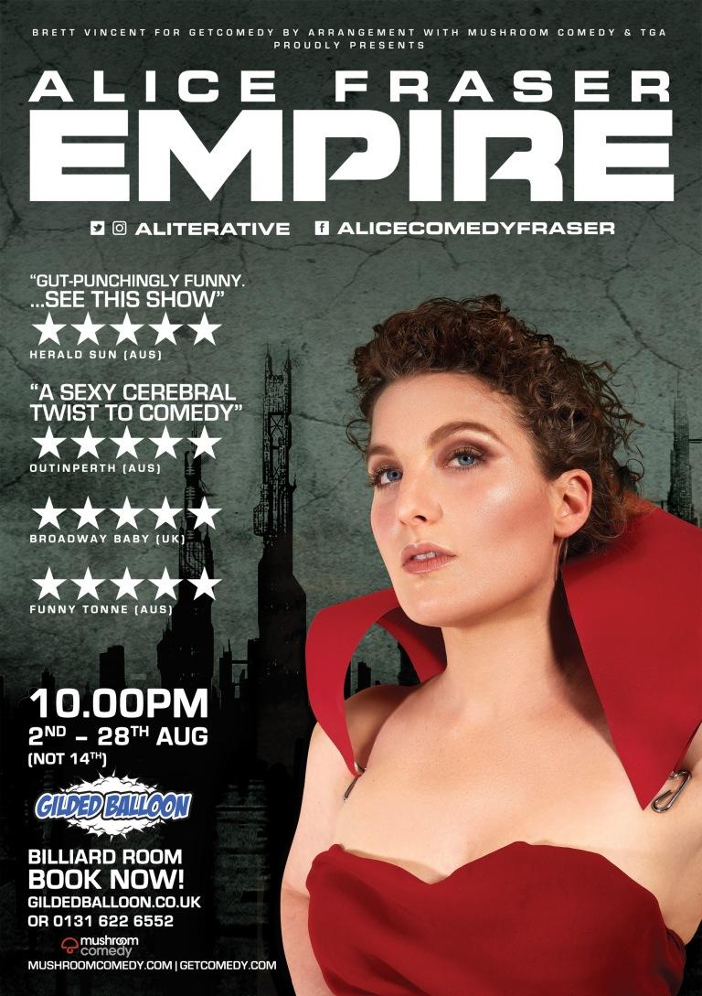 Alice Fraser - Empire - POSTER